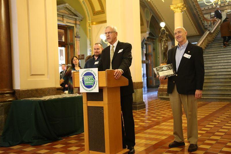 Jordan Allsup, Mayor Agnew, Russ Crawford