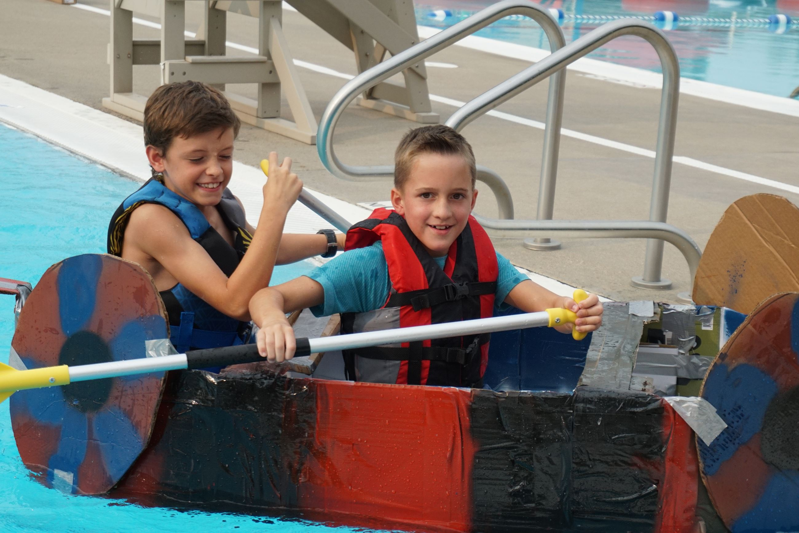 Fastest Boat Age 8-10