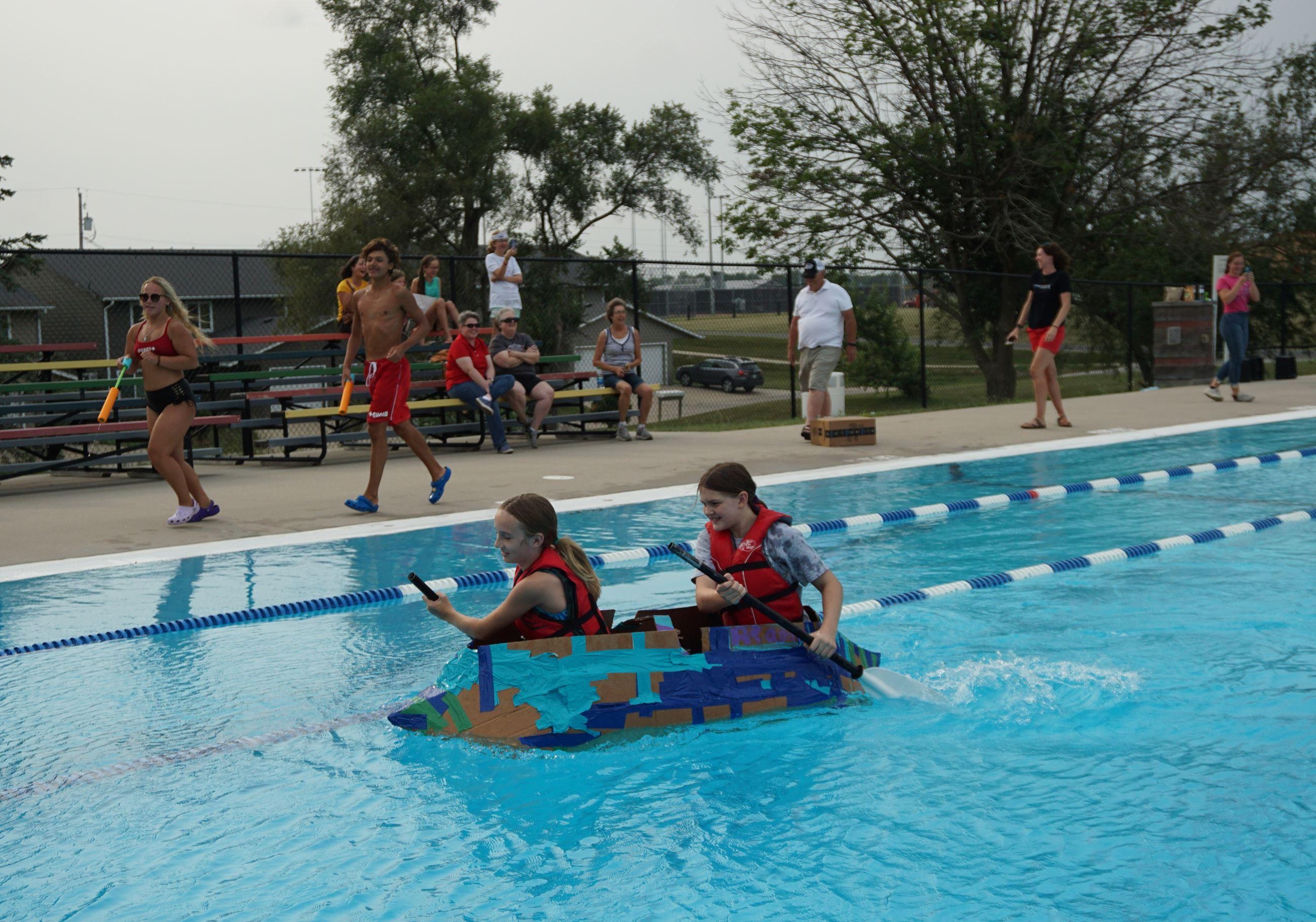 Fastest Boat Age 11-14